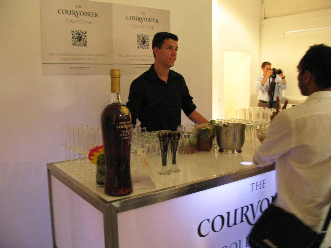 Courvoisier collective event