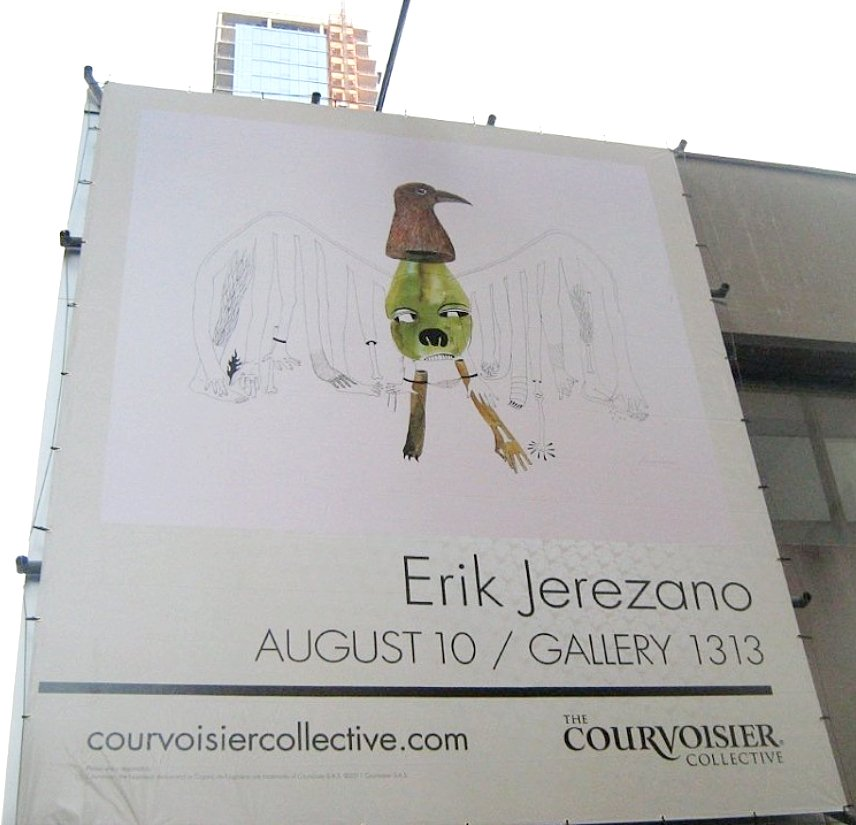 Courvoisier collective OOH