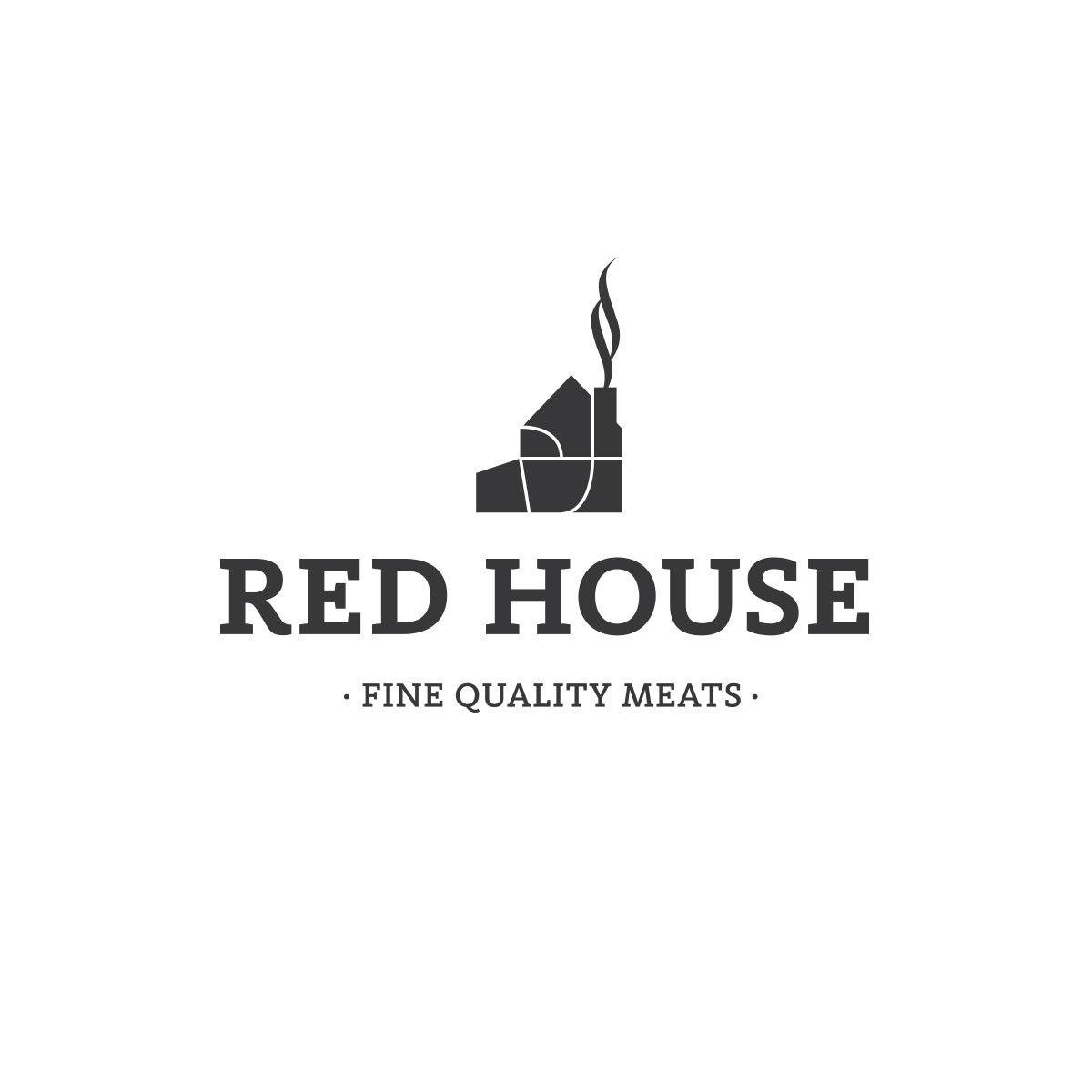 Red House meats branding