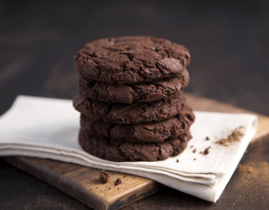 Food photography cookie