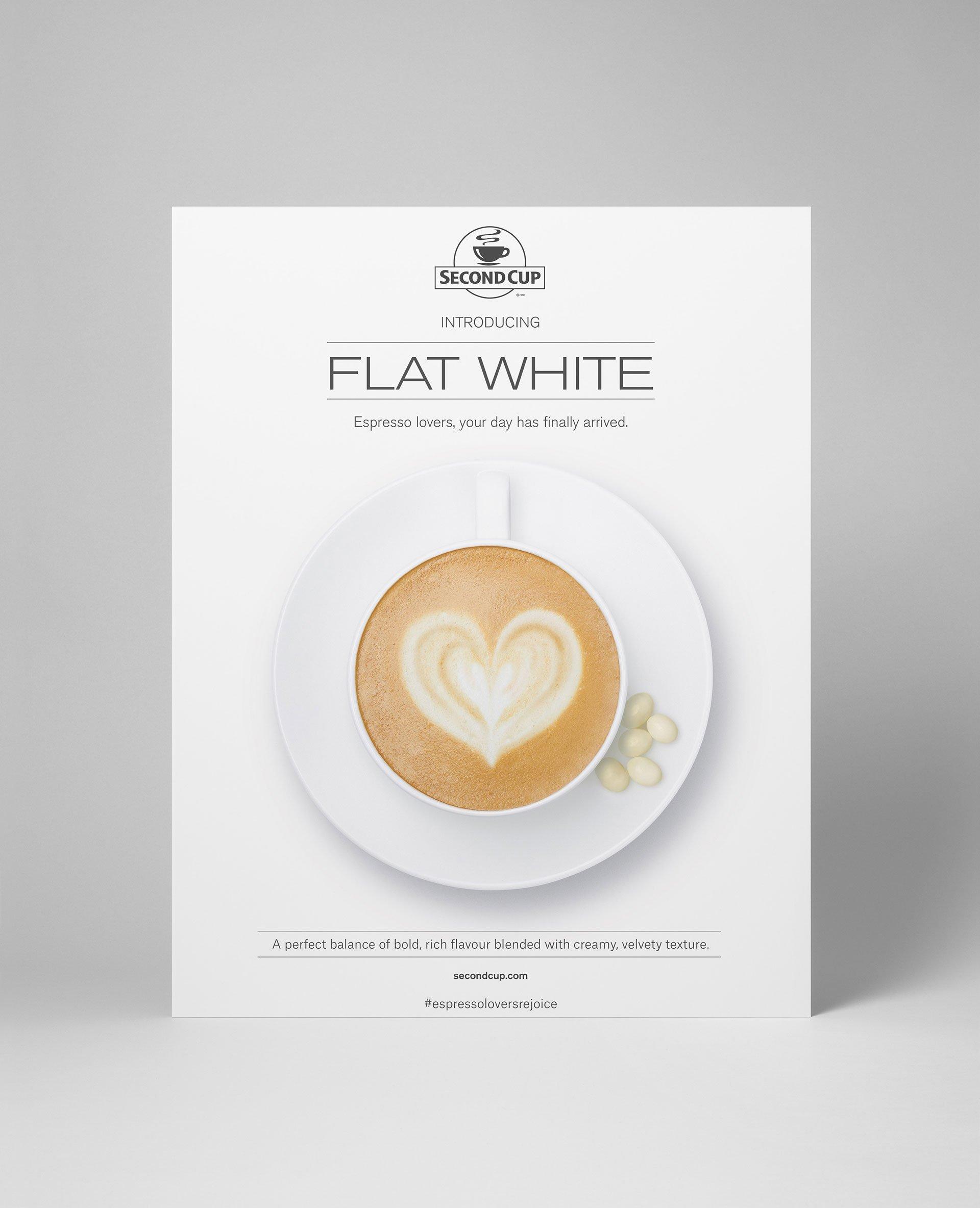 Flat White campaign ad