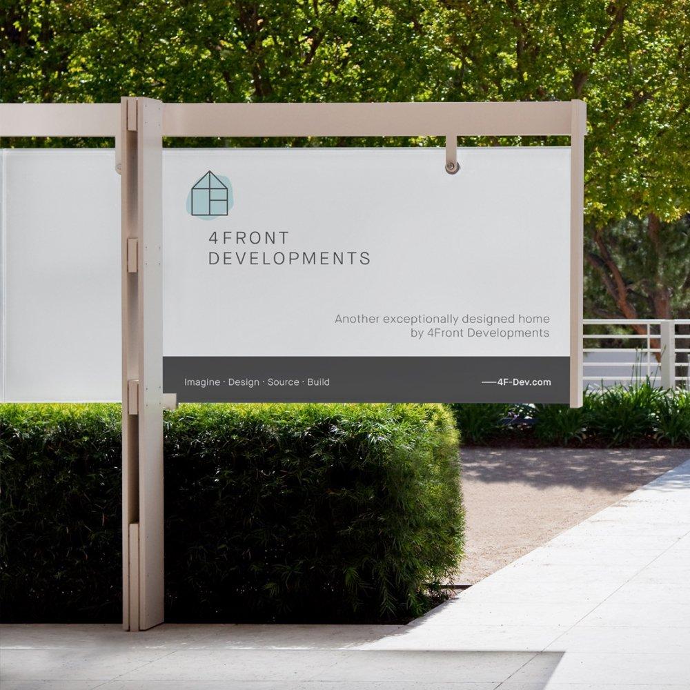 fourfront developments signage