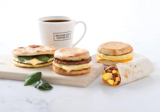 Food photography breakfast