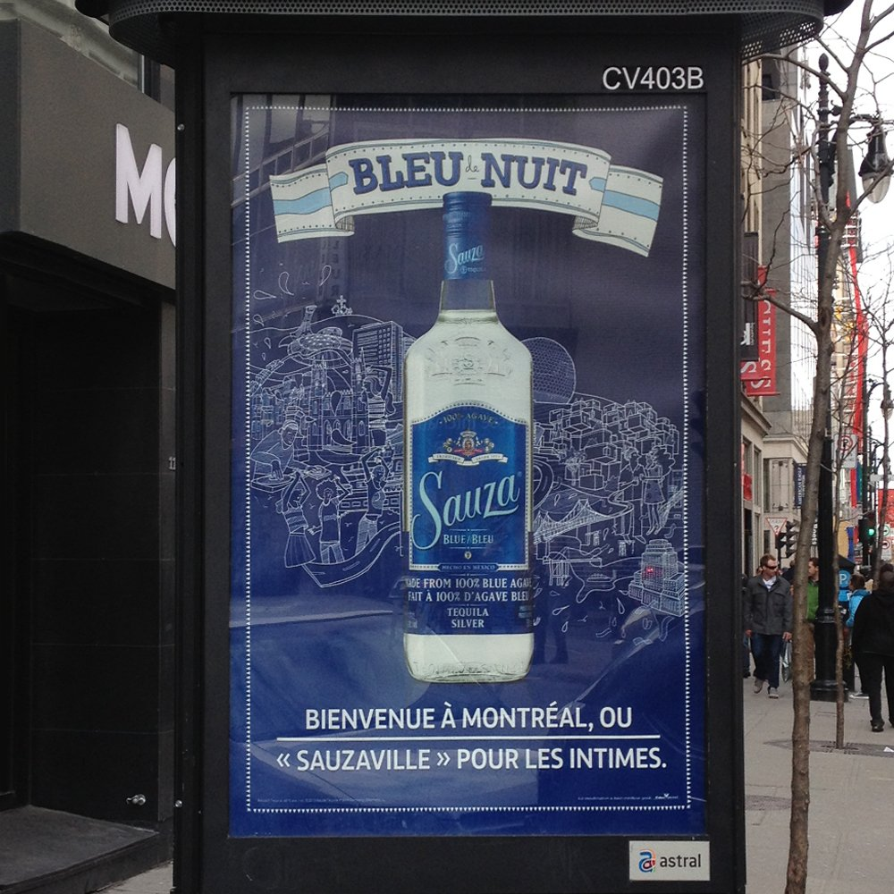 tequila advertising campaign