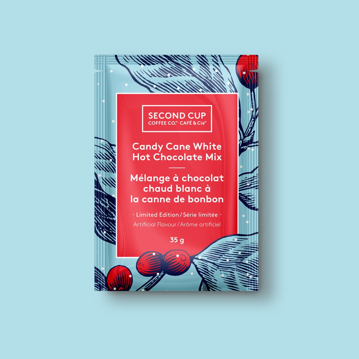 retail campaign hot chocolate packaging