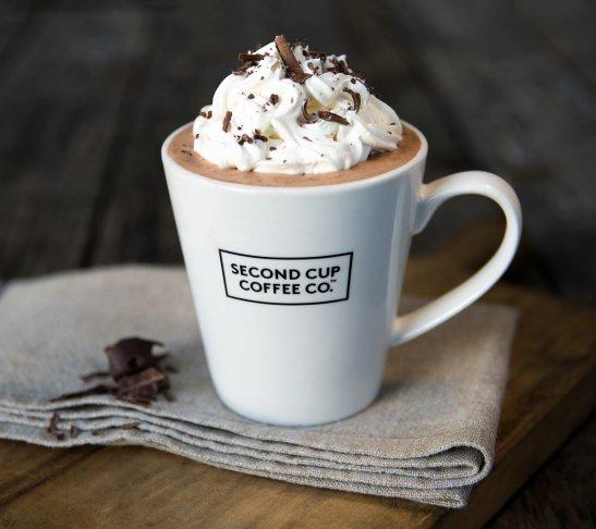 Food photography hot chocolate