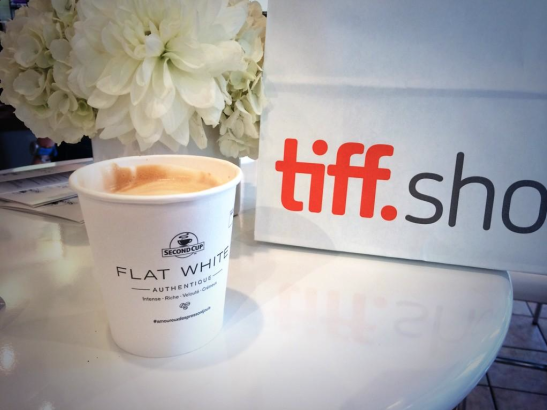 Flat White retail campaign cup