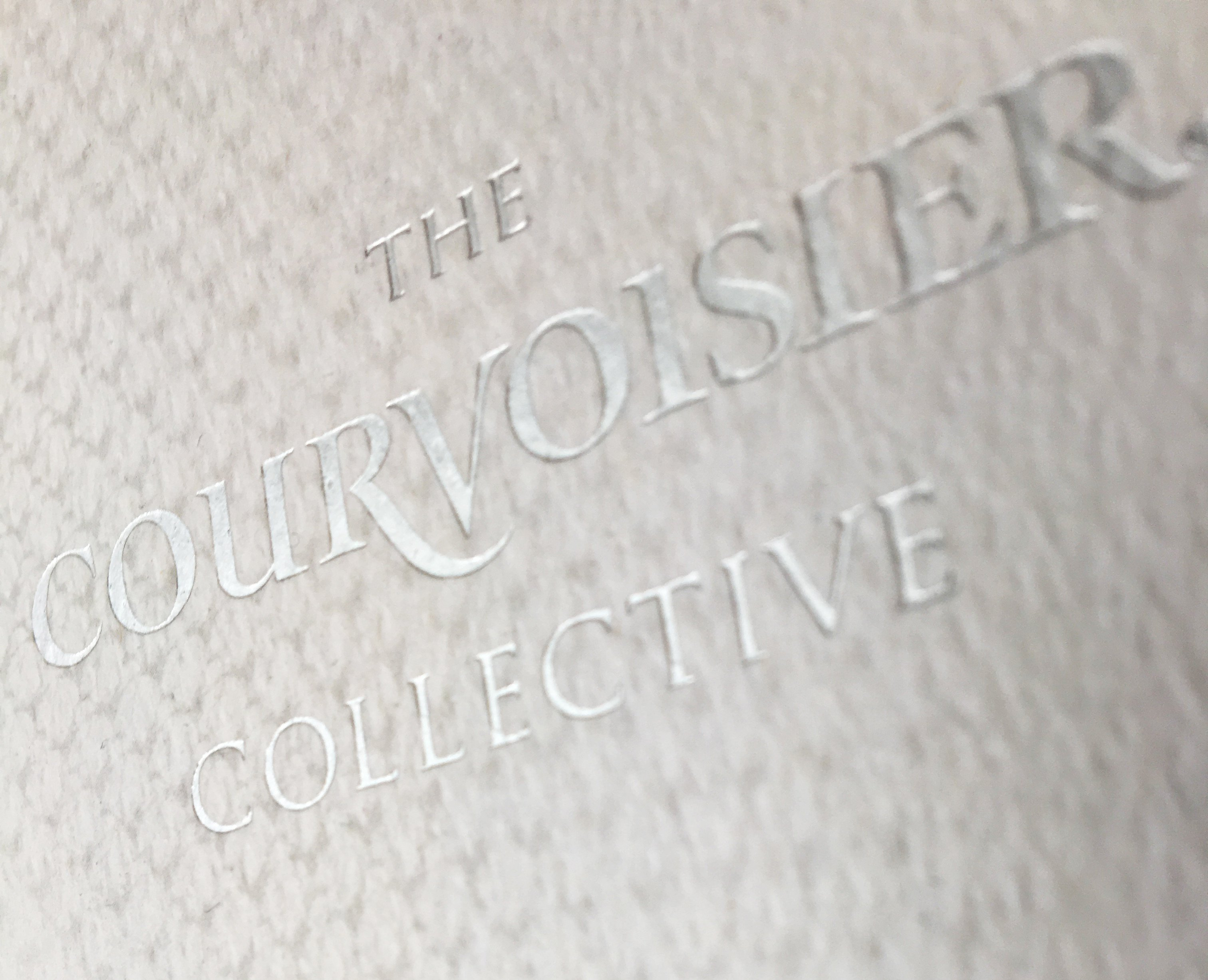 Courvoisier collective foil stamping