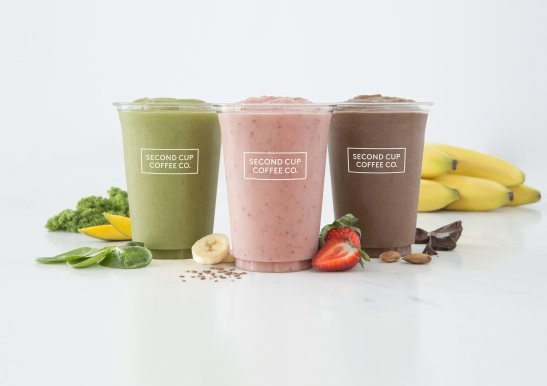 Food photography smoothies