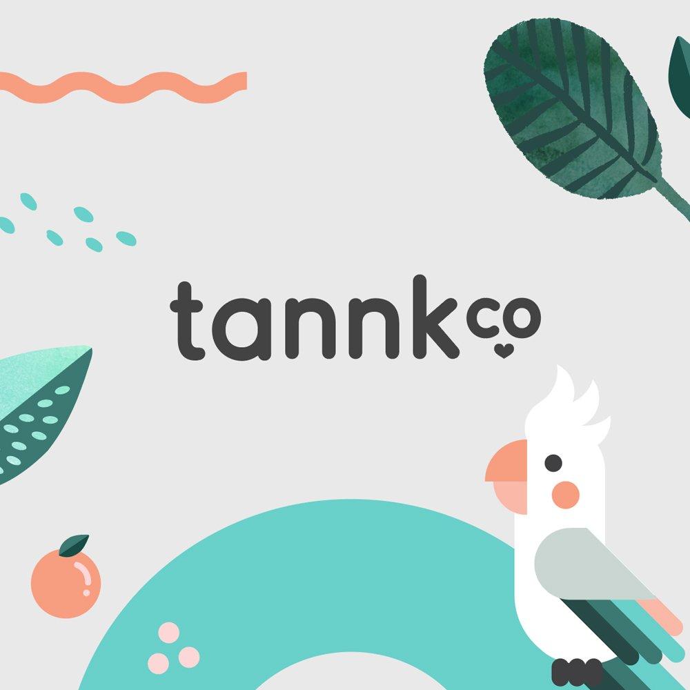 Tannk brand identity design